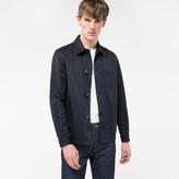 Paul Smith Men's Black Cotton And Linen-Blend Chore Jacket