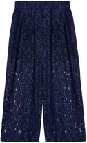 MSGM Lace Cropped Pants
