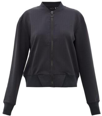 The Upside Monica Technical Jersey Bomber Jacket - Womens - Black