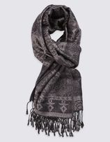 Marks and Spencer Jacquard Print Scarf