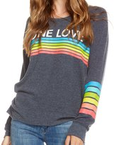 Chaser Women's One Love Rainbow Long Sleeve