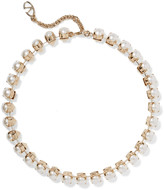 Valentino Gold-plated pearl necklace