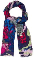 Diane von Furstenberg Wool & Silk-Blend Scarf