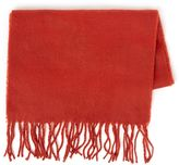 Topman Chilli Red Woven Scarf