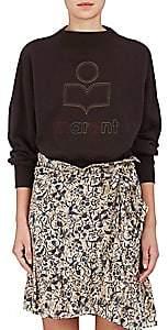 Etoile Isabel Marant Women's Odilion Cotton-Blend Fleece Sweatshirt-Faded Black