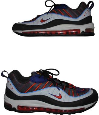 Nike 98 Orange Rubber Trainers