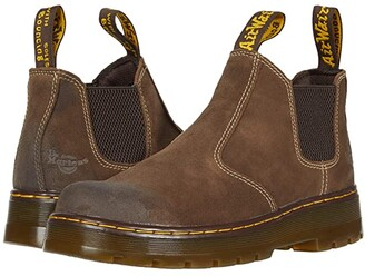 Dr. Martens Work Hardie Chelsea Work Boot (Dark Brown) Boots