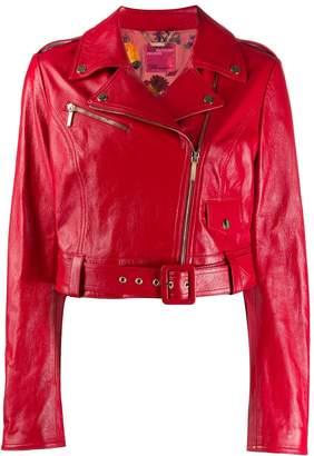 Blumarine x Salvatore Piccione biker jacket