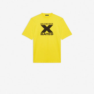 Balenciaga X-Rated Large Fit T-shirt