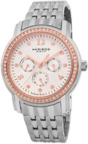 Akribos XXIV Women's Lady Diamond Watch