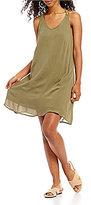 Roxy Dome Of Amalfi V-Neck Swing Dress