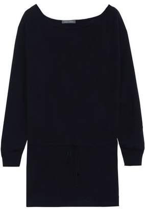 Alberta Ferretti Wool, Silk And Cashmere-blend Sweater