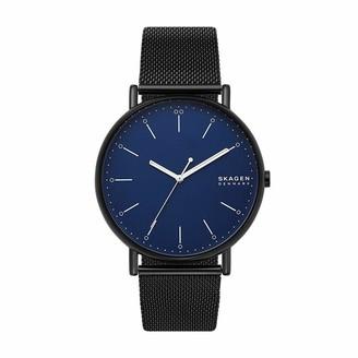 Skagen Mens Analogue Quartz Watch with Stainless Steel Strap SKW6529
