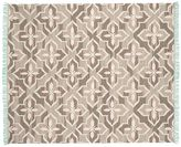 Pottery Barn Trina Indoor/Outdoor Rug - Brown/Turquoise