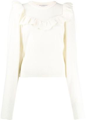 Philosophy di Lorenzo Serafini Ruffle-Trimmed Sweater