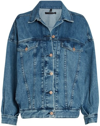 J Brand Drew Oversized Denim Jacket