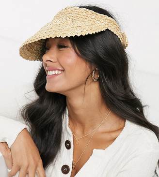 South Beach Exclusive straw visor