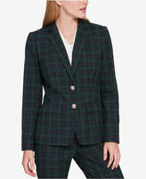 Tommy Hilfiger Plaid Two-Button Blazer, Created for Macy's