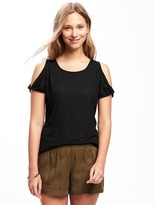 Old Navy Relaxed Cutout-Shoulder Top for Women