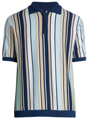 Nominee Stripe Sweater Polo