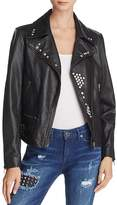 True Religion Studded Leather Jacket