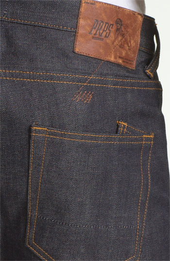 PRPS 'Rambler' Slim Fit Selvedge Jeans (Raw)