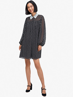 Kate Spade Domino Dot Swing Dress