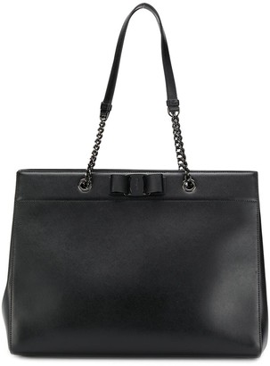 Salvatore Ferragamo Vara Bow Double Handle Bag