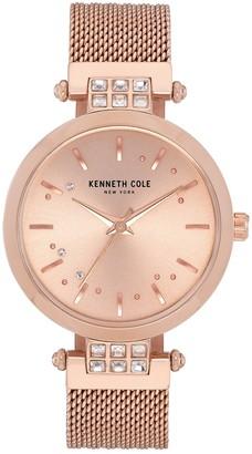 Kenneth Cole New York Women's Classic Mesh Bracelet Watch, 34mm