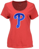 '47 Women's Philadelphia Phillies Relaxed Knockout T-Shirt