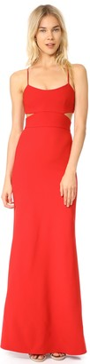 Jill Stuart Jill Women's Spaghetti Strap Bodycon with Cutouts