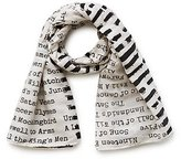 Out of Print Banned Books Scarf