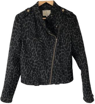 Essentiel Antwerp Grey Wool Jacket for Women