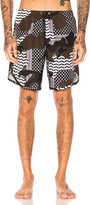 Neil Barrett Camouflage Swim Trunks
