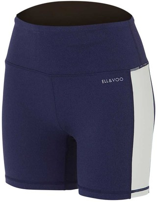 Ell & Voo Womens India 5in Panel Shorts