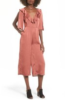 The Fifth Label Women's Lola Ruffle Neck Crop Jumpsuit