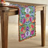 Pier 1 Imports Vistoso Blooms Embroidered Table Runner - 54""