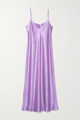 Vince Satin Midi Dress