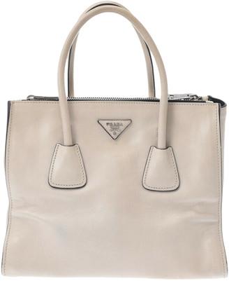 Prada White Leather Handbags