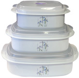 Corelle Impressions Shadow Iris Microwave Cookware and Storage Set