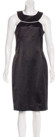 Givenchy Silk Sheath Dress