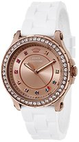 Juicy Couture Women's 1901240 Pedigree Analog Display Quartz White Watch