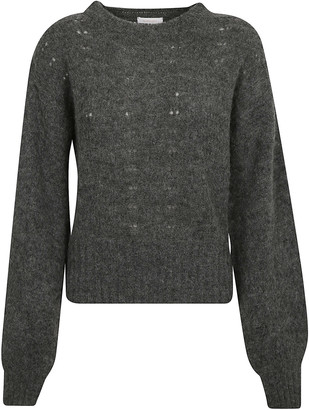 See by Chloe Fur Applique Pullover