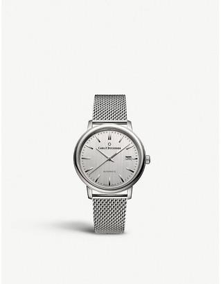 CARL F BUCHERER 00.10314.08.13.21 Adamvi stainless steel automatic watch