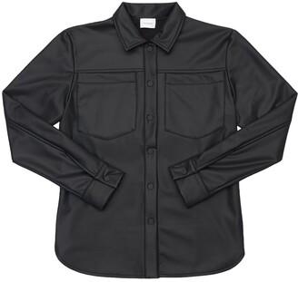 Unlabel Faux Leather Shirt