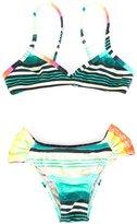 Lygia E Nanny Kids - printed bikini set - kids - Polyamide/Spandex/Elastane - 2 yrs