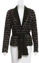 La Perla Guipure Lace Evening Blazer