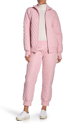 Norma Kamali Quilted Jogger Pants