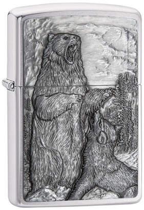Zippo Bear Vs. Wolf Lighter