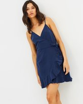 MinkPink Pacifica Wrap Dress